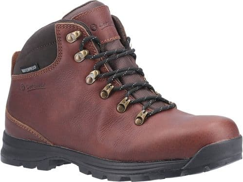 Cotswold Kingsway Mens Hiking Boots Brown